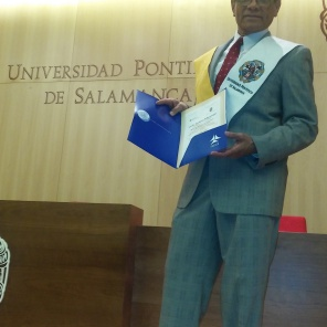 Graduation, Master Degree, Salamanca University, Spain